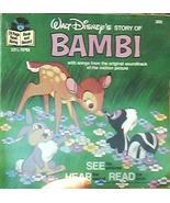 (Story Of) Bambi Read-Along Book And Record [Vinyl] Walt Disney - $74.34