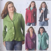 Simplicity Sewing Pattern 4032 Ladies Misses Jackets Vests Size 16-24 New - $16.31