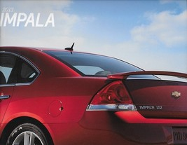 2013 Chevrolet IMPALA sales brochure catalog US 13 Chevy LS LT LTZ - $6.00