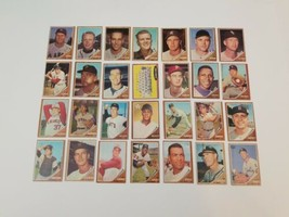1962 Topps Baseball Cards Lot of 28 VgEx Los Angeles Angels Team Card - $48.30