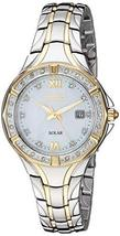 Seiko ' Ladies' Dress Sport' Quartz Stainless Steel Watch, Color:Two Ton... - $393.75