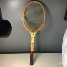 Slazenger Wood Tennis Racket Racquet Light 4 1/2 Vintage Tournament Logo - $19.79