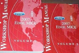 2007 Ford Edge Lincoln MKX Service Shop Workshop Repair Manual Set OEM F... - $79.15