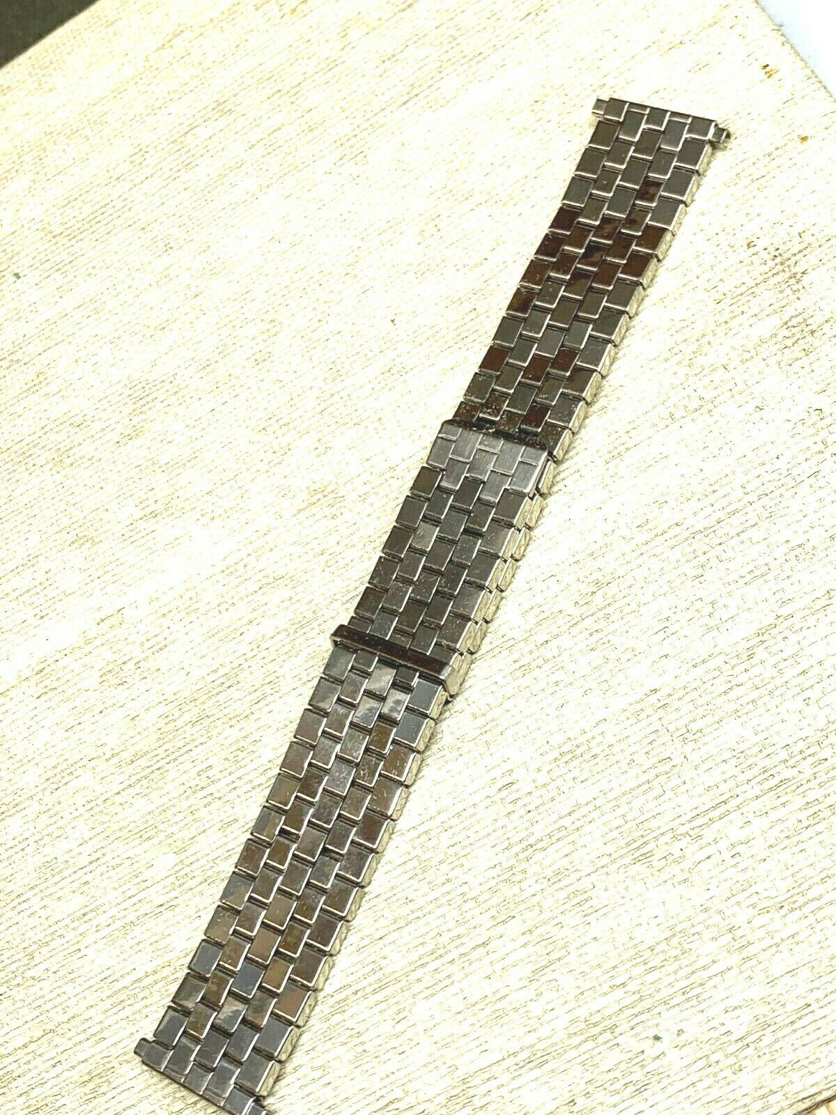 New Vintage expansion watch band stainless steel adjusting BOWLES Flex image 2
