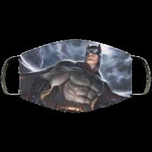 Face Mask Batman Art v4 DC Comics Superhero Justice League 2 Ply Lightwe... - $13.95