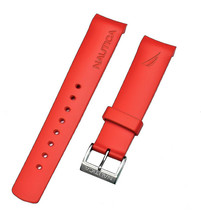 Nautica Men's N18639G A18639G BFD 101 Dive Style Chrono Red Original Watchband - $17.54