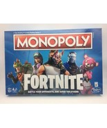 Monopoly Fortnite Edition Board Game 2-7 Players 13+ Play Video Fight Ba... - $14.95