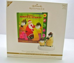 Where's Santa's Stuff? Hallmark Keepsake Interactive Ornament & StoryBoo... - $8.00