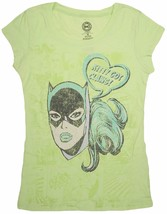 DC Comics Tee Women's Juniors Kitty Got Claws Graphic BATGIRL Tee Shirt - $9.99