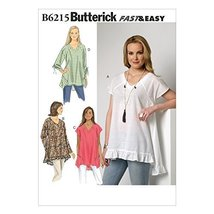 Butterick Patterns B6215ZZ0 Misses Top, ZZ (LRG-XLG-XXL) - $14.70