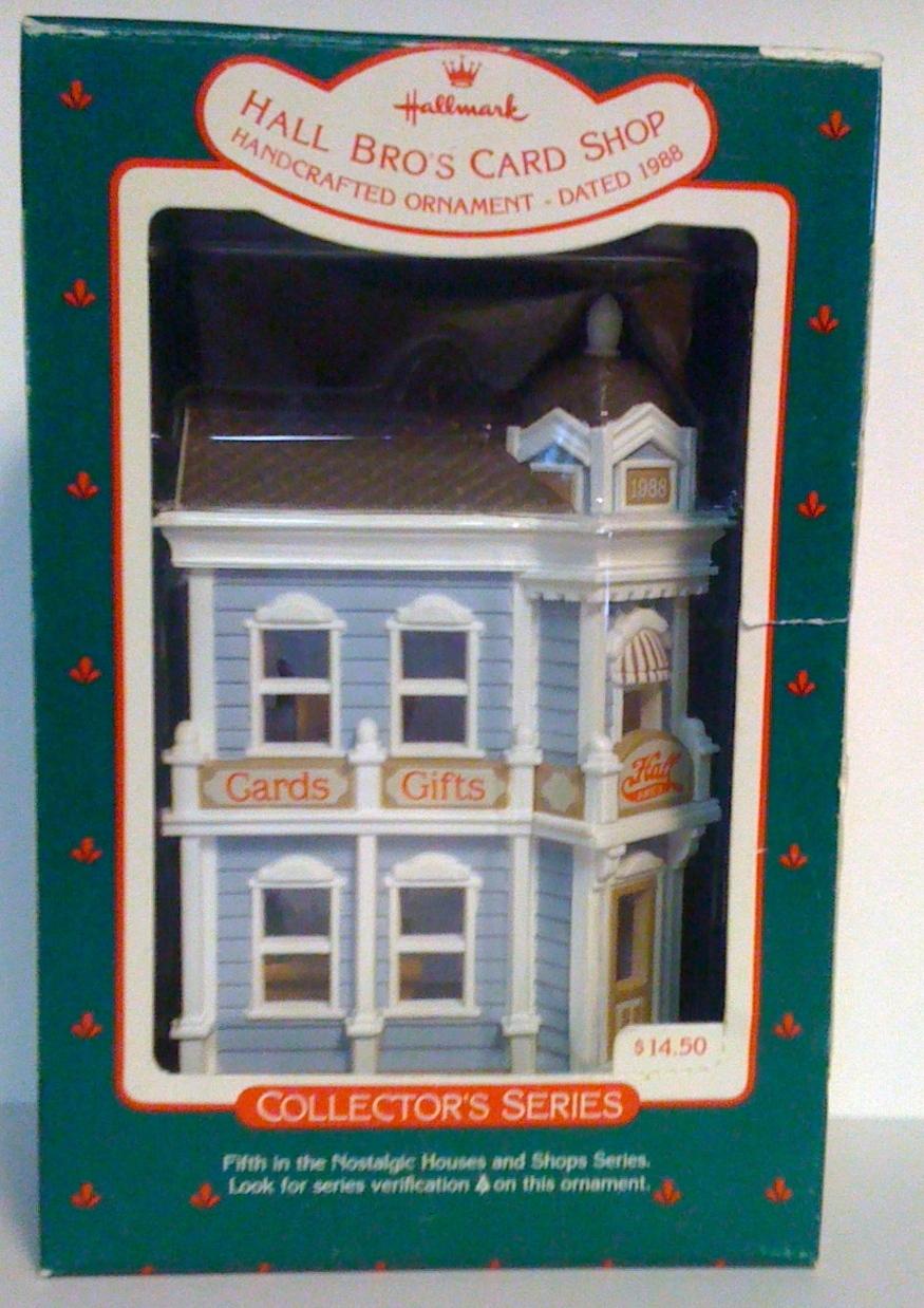 Hallmark Nostalgic Houses Shops 5 In Series 1988