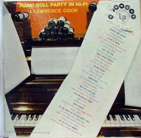 Primary image for J. LAWRENCE COOK piano roll party in hi-fi LP