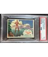 1954 Topps Scoop #60 Acrobat Crosses Niagara PSA 5 EX-MT - $29.65