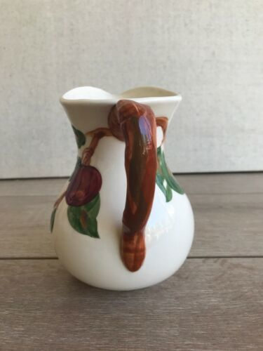 """Vintage Franciscan Apple Large Pitcher Made in California Leaf 6 1/2"""" Tall image 4"""