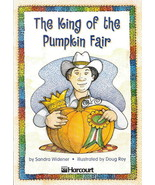 The King of the Pumpkin Fair by Sandra Widener 0153230851  - $3.00