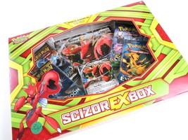 Pokemon TCG Scizor EX Box, Foil Cards, 4 Booster Packs, NIB - $23.75