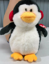 "Ty 11"" Snowbank The Penguin Plush Stuffed Toy New WIth Tags - £5.97 GBP"