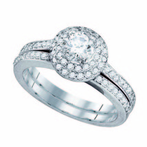 1CT-DIA 3/8CT-CRD Bridal Set - $1,960.02