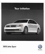 2015 Volkswagen JETTA SPORT Edition brochure catalog folder VW 15 1.8T TSI - $8.00