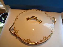 Theodore Haviland  white porcelain covered serving bowl. - $65.00