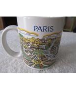 "Exclusive France Souvenirs ""J Heart Paris"" Street Scene Ceramic Coffee Cup! - $10.65"