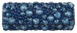 "Sondra Roberts Elegant Jeweled ""Bubble/Bauble Bead"" Sapphire Blue Evenin... - $49.90"