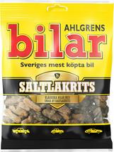 Ahlgrens Bilar Saltlakrits- Soft Chewy Candy Cars- 1 pack - 100g - Swedish Candy - $7.92