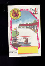 Quality Courts Unlimited Fall 1951 Motel Guide East Coast - $12.00
