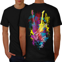 Guitar Dream Player Shirt Electric Men T-shirt Back - $12.99+