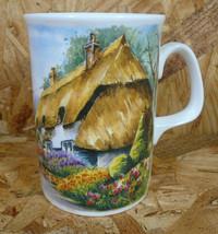 Royal Doulton Expressions English Bone China COUNTRY COTTAGES Mug England - $16.99