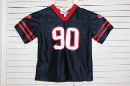 Nfl Team Apparel Kids Houston Texans #90 Williams Jersey 4T - $19.99