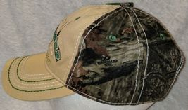 John Deere LP64489 Tan And Mossy Oak Camo Adjustable Baseball Cap image 5