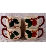 Vintage 1940s  50s Franciscan Coffee - Tea Mugs - $24.95