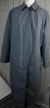 vntg London Fog womens trenchcoat sz 16 alpaca/mohair lining pima cotton... - $36.62