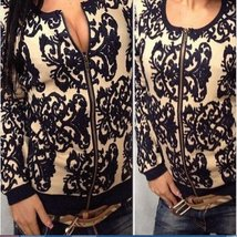 Slim Knitted Embroidered Women Sweater - $18.76