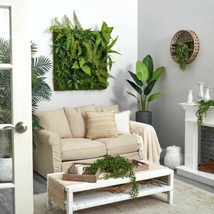 """Durable Multicolor Forest Artificial Living Wall - 40?x40?"""" - $663.89"""