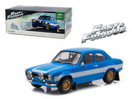 BRIAN'S 1974 FORD ESCORT RS2000 MK FAST AND THE FURIOUS 6 1/18 GREENLIGH... - $82.95
