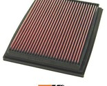 K&N Replacement Air Filter Fits Volvo 740 2.3L; 1985-1992 33-2526