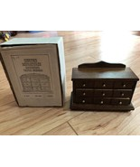 Concord Miniatures American Triple Dresser Dollhouse Furniture W BOX #1927 - $21.77