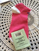 womens and girls socks size 9-11 pink with U.S flag - $3.63