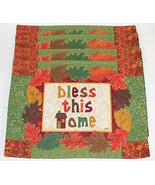Loretta for the Home Cotton Fall Themed Placemats, Set of 4 (Bless this ... - $24.01