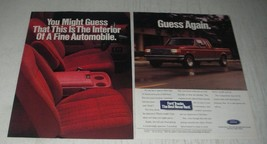 1991 Ford F-150 Pickup Truck Ad - You might guess that this is the interior - $14.99