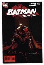 Batman Annual #25-Resurrection of JASON TODD -Red Hood origin 2006 - $31.53