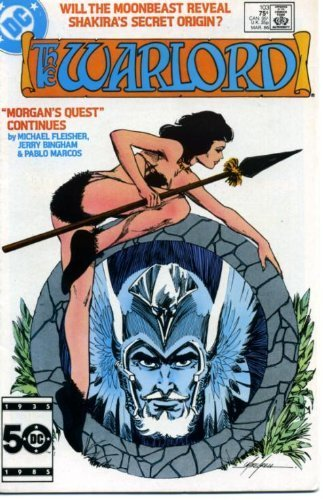 Warlord #103 [Comic] [Jan 01, 1985] Michael Fleisher; Jerry Bingham and Pablo Ma