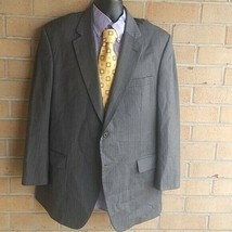 Jos. A. Bank Signature Men's Charcoal Striped Size 44R - $37.13