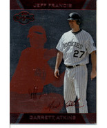2007 Topps Co-Signers Silver Red #4A Garrett Atkins/Jeff Francis 167/199... - $0.99