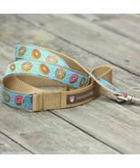 Donuts for Him Jacquard Dog Leash (120cm, 4ft.) / Made in Japan - $36.00