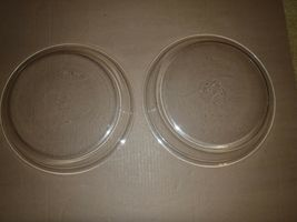 2 Vintage Pyrex 10 inch Clear Pie Plates 210 HTF Size Pies Tarts Quiche image 4