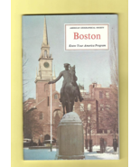 Book -- BOSTON (American Geographical Society KNOW YOUR AMERICA Edition,... - $3.50