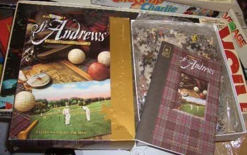 BEPUZZLED MURDER AT ST ANDREWS PUZZLE/GAME UNUSED